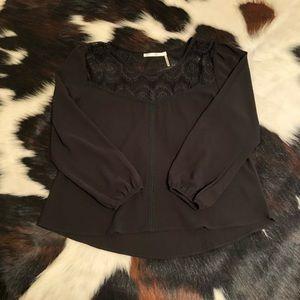 Boutique lacy blouse